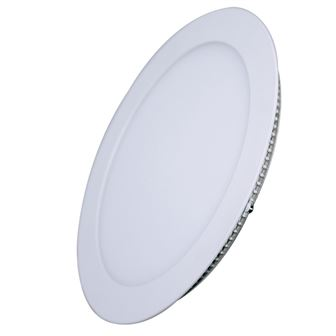 Solight LED mini panel, podhledový, 18W, 1530lm, 3000K, tenký, kulatý, bílý