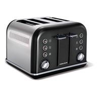 Morphy Richards topinkovač Accents Black 4S