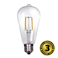 Solight LED žárovka retro, EDISON ST65, 8W, E27, 3000K, 360°, 810lm