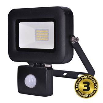 Solight LED reflektor PRO se senzorem, 20W, 1700lm, 5000K, IP44